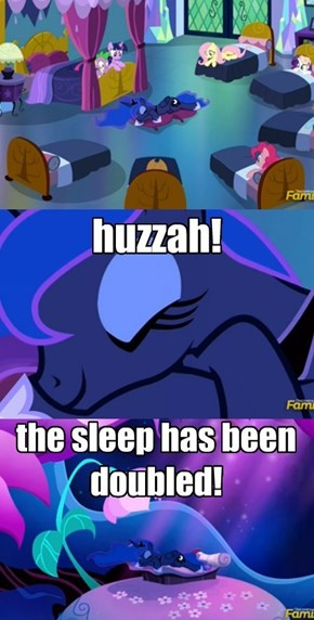 Princess Luna's Forty Winks