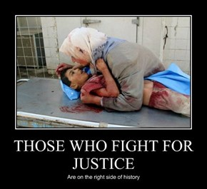 THOSE WHO FIGHT FOR JUSTICE
