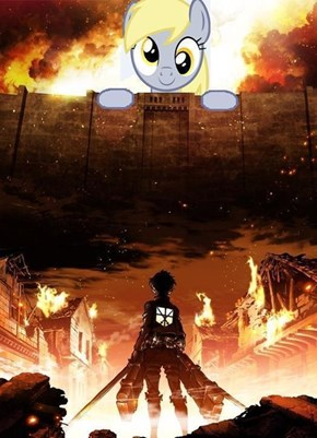 Attack on Derpy