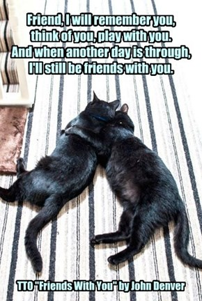 """TTO """"Friends With You"""" by John Denver"""