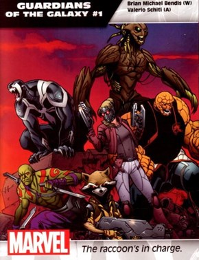 Brian Michael Bendis Talks About the 'All-New All-Different' Guardians of the Galaxy