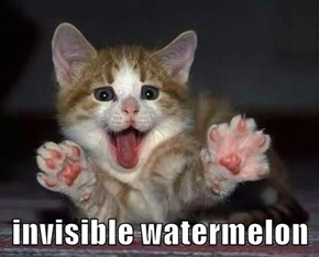 invisible watermelon