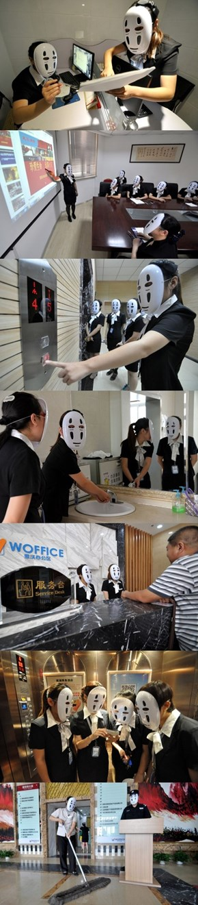 Hate Your Customers? Skip the Scowls With a No-Face Mask