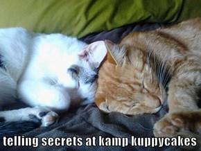 telling secrets at kamp kuppycakes