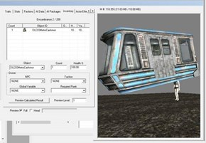 """The Train in Fallout 3's Broken Steel Add-On Was Actually an NPC With a """"Train Helmet"""" Running Really Fast"""