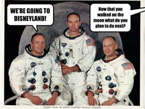 Now that you walked on the moon what do you plan to do next?