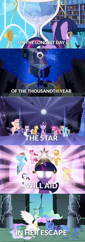 The Prophecy Was About Twilight's Butt!