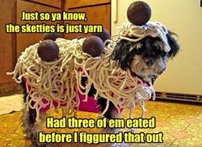 The noodles are a lie