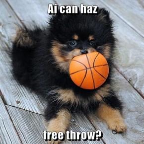 Ai can haz  free throw?