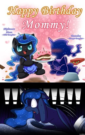 Luna's Real Nightmare