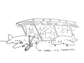 Plane-ly Inappropriate