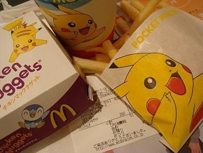 Pika Chooses Chicken Nuggets
