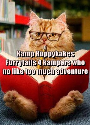 Kamp Kuppykakes Furrytails 4 kampers who no like too much adventure