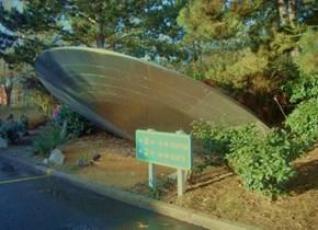 Plutonian UFO Crash Site
