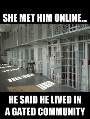 SHE MET HIM ONLINE...