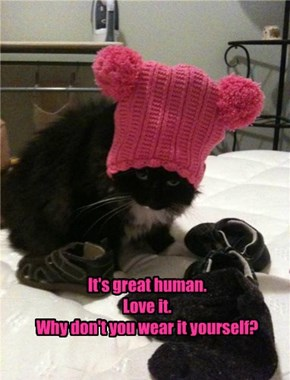 It's great human. Love it. Why don't you wear it yourself?