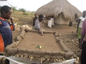 African DIY Pool Table
