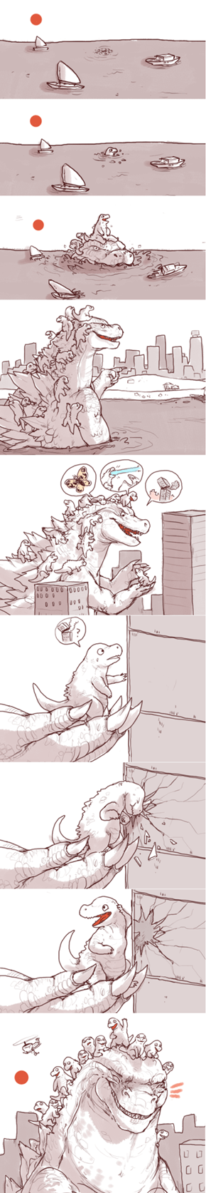 Best Kaiju Dad