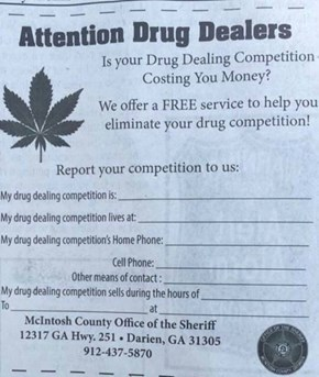 How a Georgia Sheriff's Department Handles Drug Dealers