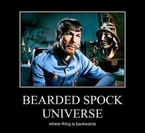 BEARDED SPOCK UNIVERSE