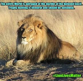 #LionLivesMatter