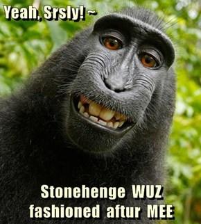 Yeah, Srsly! ~  Stonehenge  WUZ  fashioned  aftur  MEE
