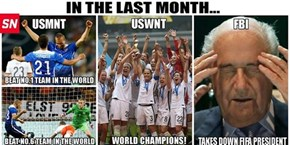America is Now Best Soccer Country