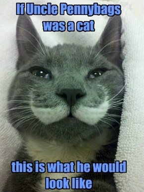 If Uncle Pennybags was a cat