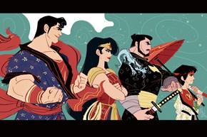 If DC's Hero Trinity Were Samurai