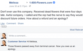 """We Hope That Helps"" is the Customer Service That Facebook Pages Need"