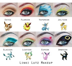 Eeveelution Makeup