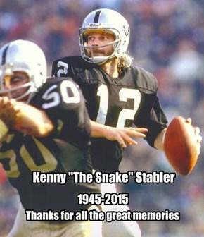 Ken Stabler - RIP