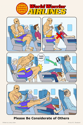 Don't Be a Sagat
