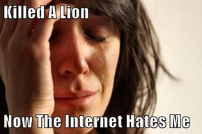 Killed A Lion  Now The Internet Hates Me