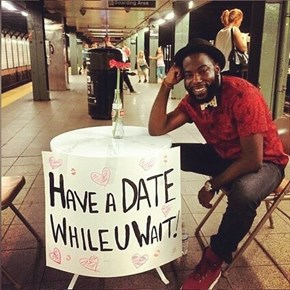 Speed Dating In The Subway