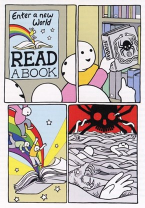 Enter a New World By Reading a Book