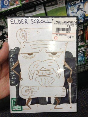 """I Remember When I Used to Be 'The Younger Scrolls V: Skyrim'"""
