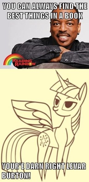 LeVar Knows Who is Best Pony!