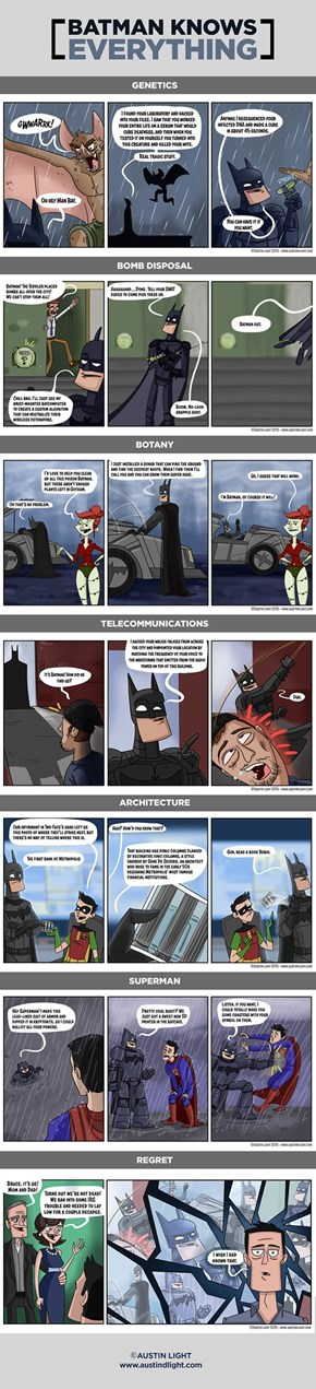 Batman Knows Everything