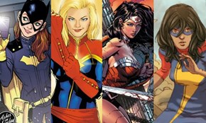 The New Generation of Female Superheroes and Hero Creators