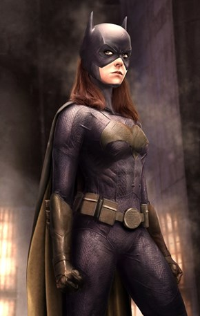 Jena Malone as Batgirl Fan Concept Art