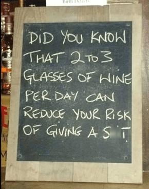Start Wine-ing, Stop Whining