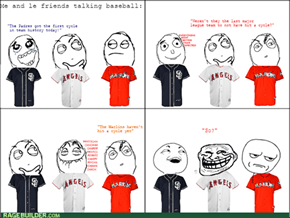 A baseball-themed rage comic? Yes, it is indeed the last sign of the apocalypse