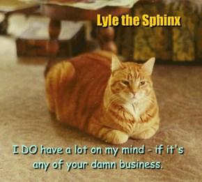 Lyle the Sphinx