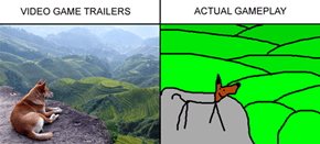 Video Game Trailers vs. Gameplay