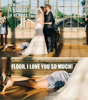 One Way To Crash A Wedding