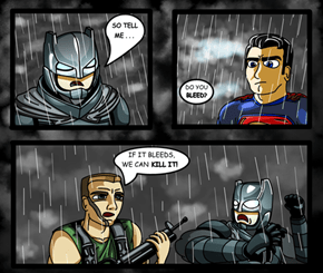 Batman v Superman v Predator v Alien