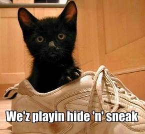 Itsa Sneaker, innit?