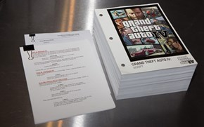 The Script of Grand Theft Auto III Versus the Script of Grand Theft Auto IV