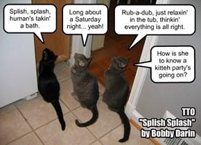 """TTO """"Splish Splash"""" by Bobby Darin"""